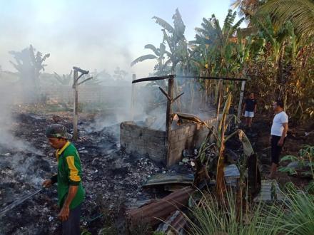 Kebakaran TPST Desa Nagasepaha Ludes di Lahap Api