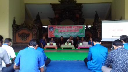 Sosialisasi Penyuluhan Hukum Fakultas Hukum Universitas Panji Sakti di Desa Nagasepaha