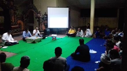 Pembentukan Panitia Calon BPD Desa Nagasepaha