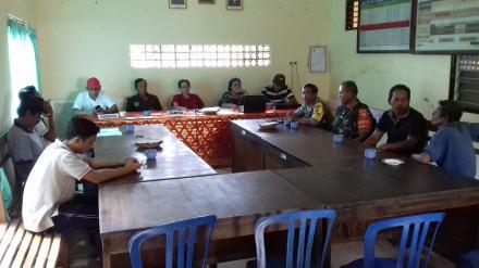 Rapat Pleno Penetapan Daftar Pemilih Tetap (DPT) Pemilihan Perbekel Tahun 2019 Desa Nagasepaha
