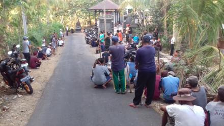 Swadaya Gotongroyong Masyarakat Desa Nagasepaha dalam Kegiatan Program PAMSIMAS 2019