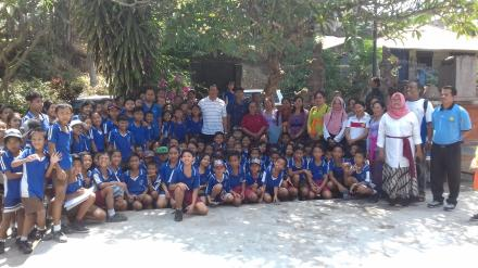 Promosi Kesehatan kepada Masyarakat Program Pamsimas tahun 2019 Desa Nagasepaha