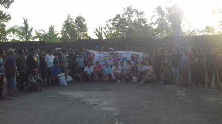 Gotongroyong dalam rangka World Clean Up Day 2019