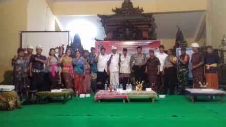 Penyampian Visi dan Misi Calon Perbekel Desa Nagasepaha Tahun 2019