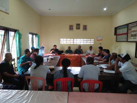 Loka Karya Desa RPJMDesa Membahas dan Mengkaji Rekapitulasi Penggalian Gagasan