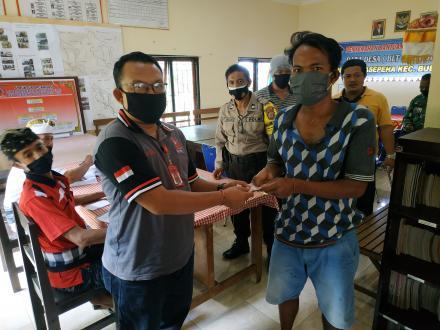 Penyalurah Bantuan Langsung Tunai Dana Desa (BLT DD) Nagasepaha
