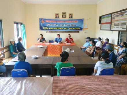 Penyaluran BLT Dana Desa Tahap III Desa Nagasepaha