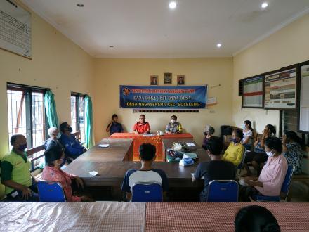 Penyaluran BLT Dana Desa Bulan Desember 2020 Desa Nagasepaha