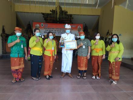 Deklarasi ODF (Open Defecation Free) Stop Buang Air Besar Sembarangan, Desa Nagasepaha
