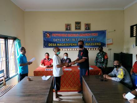 Penyalurah BLT Dana Desa Tahun 2021 Desa Nagasepaha