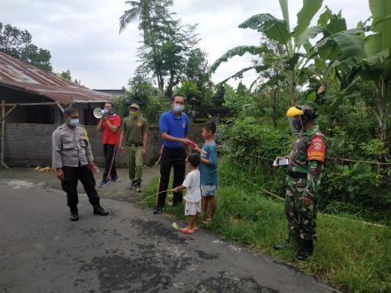 Pembinaan dan Himbauan Satgas Covid_19 Kepada Masyarakat Desa Nagasepaha
