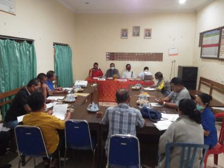 Musyawarah Pemuktahiran Data ( Sustainble Development Goals) SDGs Desa