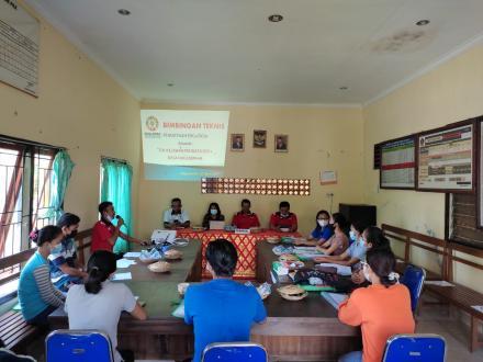 Bimbingan Teknis Pendataan Tim Relawan SDGS Desa