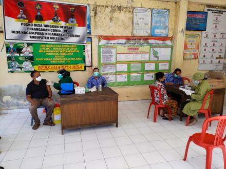 Pelaksanaan Vaksinasi Covid-19 Desa Nagasepaha