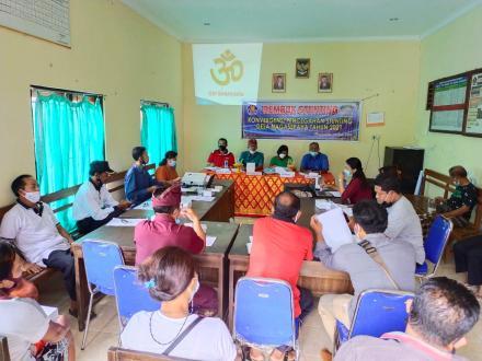 Rembuk Stunting Konvergensi Pencegahan Stunting Desa Nagasepaha Tahun 2021