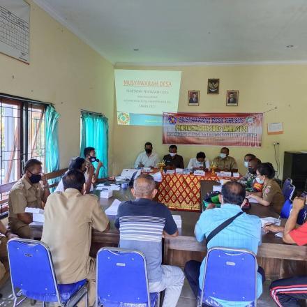 Musyawarah Desa Khusus Penetapan Data SDGs Tahun 2021