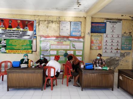 Vaksinasi Covid-19 Desa Nagasepaha