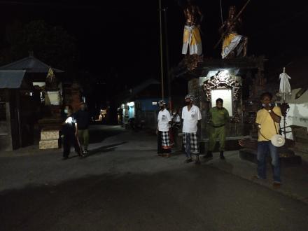Pelaksanaan Penertiban dan Pendisiplinan PPKM Desa Nagasepaha