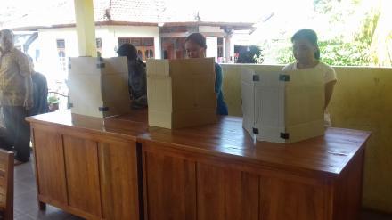 Pencoblosan Calon BPD Desa Nagasepaha