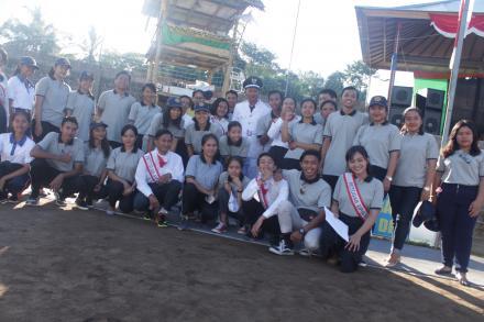 Foto bersama KKN UNUD