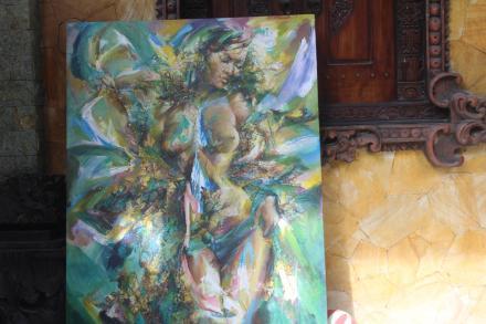 Hasil Lukisan Seni Rupa